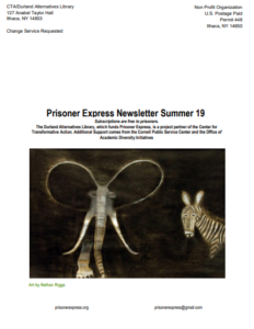 Prisoner Express Newsletter Summer 19